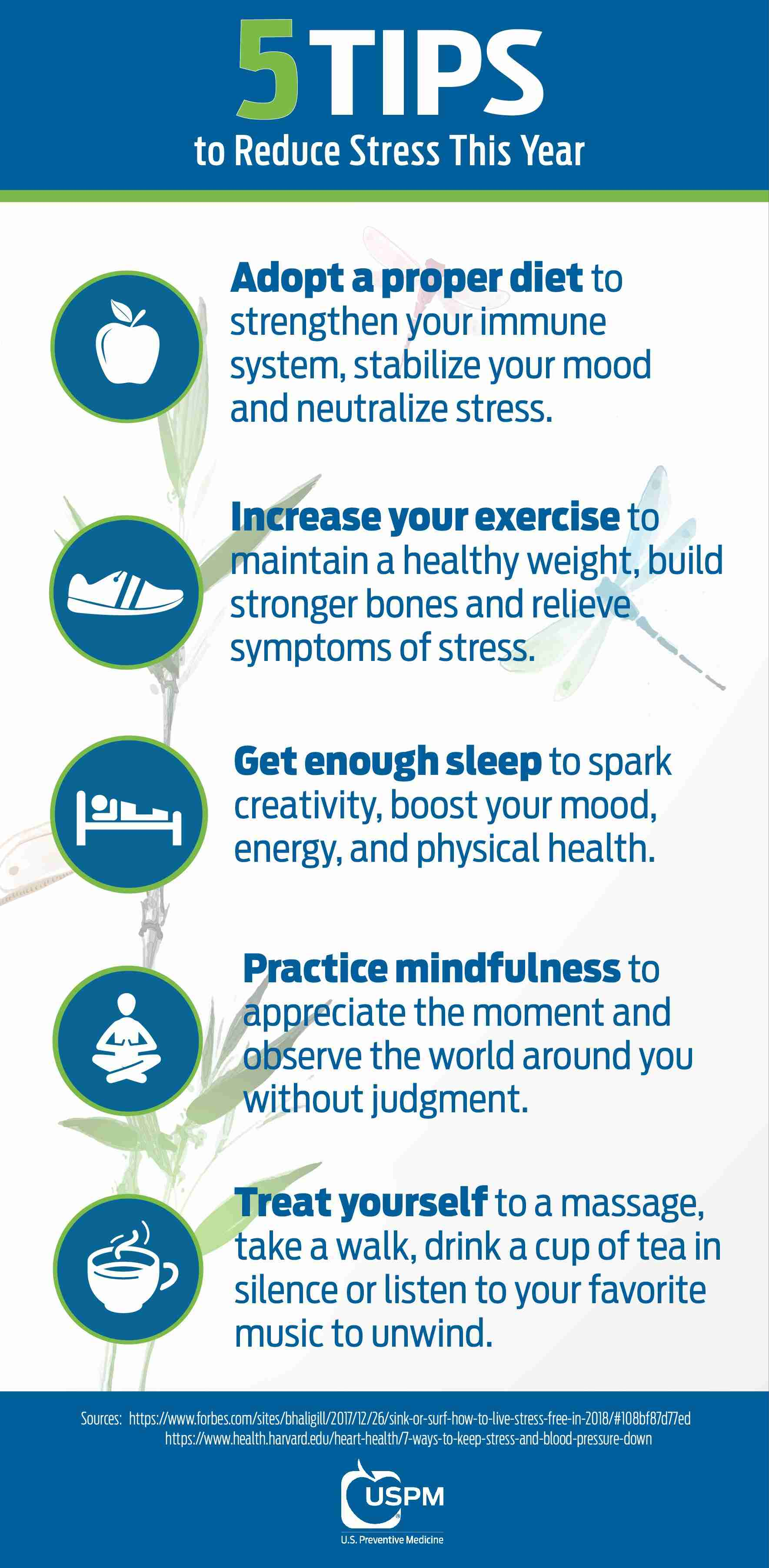 5 Tips to Reduce Stress This Year