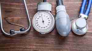 Blood pressure monitor and stethoscope