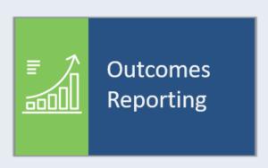 outcomes reporting icon